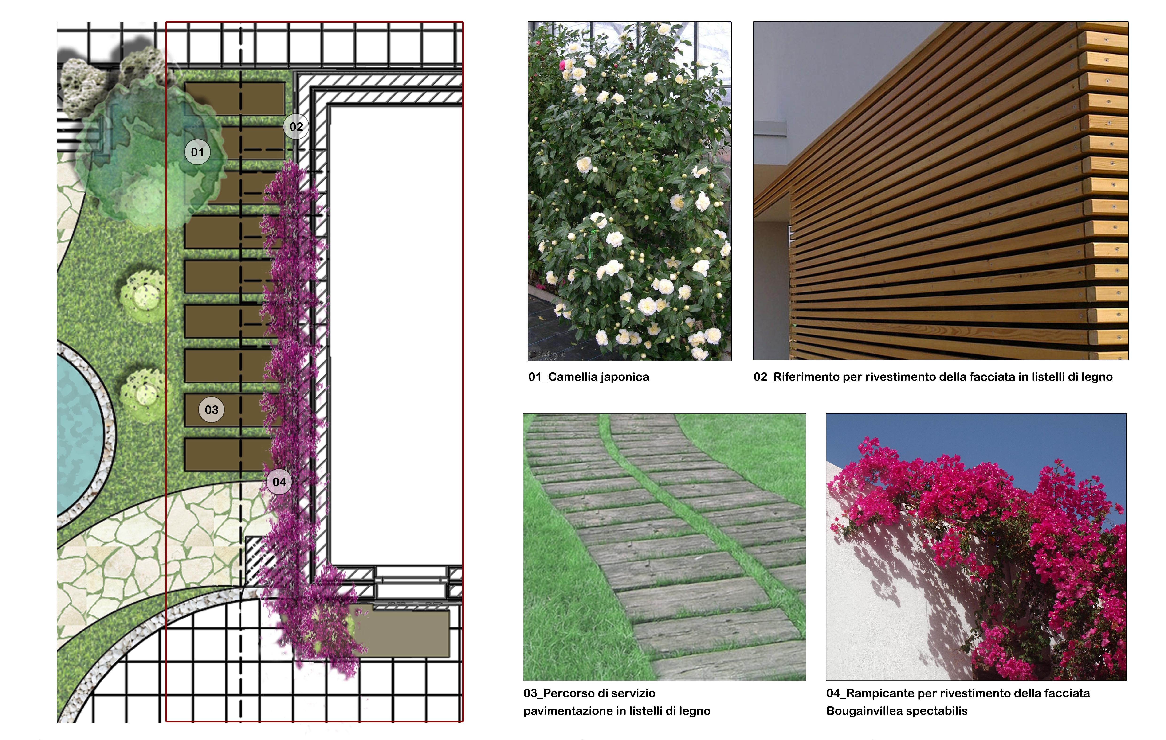 Architettura del paesaggio Edra Palace hotel