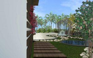 Progettazione giardino Edra Palace hotel